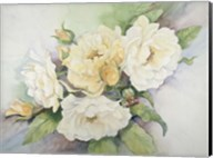 Cluster Of Yellow Roses Fine-Art Print