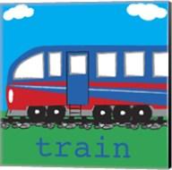 Train - Modern Fine-Art Print