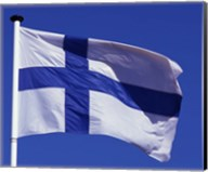 Finnish Flag, Finland Fine-Art Print