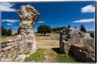 Greek and Roman Ruins, Aleria Fine-Art Print
