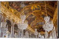 The Hall of Mirrors, Chateau de Versailles, France Fine-Art Print