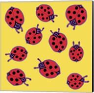 10 Ladybugs Fine-Art Print