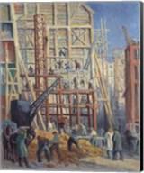 The Construction Site, 1911 Fine-Art Print