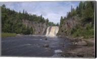 North Shore Waterfall And Lake II Fine-Art Print