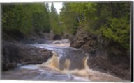 North Shore Rushing Water Fine-Art Print
