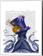 Octopus Nautical Hat Fine-Art Print