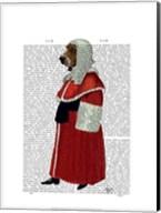 Basset Hound Judge Full I Fine-Art Print