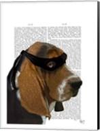 Basset Hound Ninja Fine-Art Print