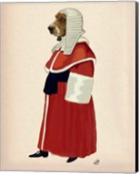 Basset Hound Judge Full II Fine-Art Print
