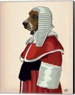 Basset Hound Judge Portrait II Fine-Art Print