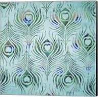 Peacock Pattern 2 Fine-Art Print