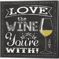 Chalk Wine 1 Fine-Art Print