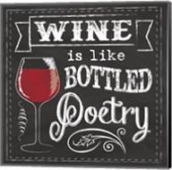 Chalk Wine 2 Fine-Art Print