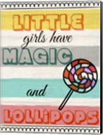 Little Girls Have Magic Fine-Art Print