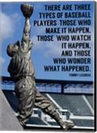 Three Types of Baseball Players Fine-Art Print