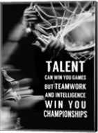 Teamwork and Intelligence Fine-Art Print
