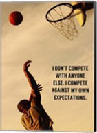 Compete With What You're Capable Of Fine-Art Print