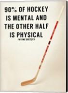 90% Of Hockey Fine-Art Print