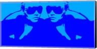 Niki Mirror Blue Fine-Art Print