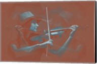 Violinist Brown Fine-Art Print