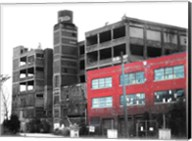 Old Building In Detroit 1 Fine-Art Print