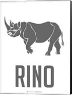 Rino Black Fine-Art Print
