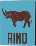 Rhino Brown Fine-Art Print