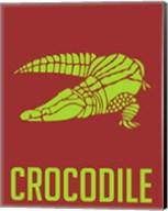 Crocodile Yellow Fine-Art Print