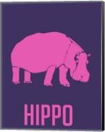 Hippo Pink Fine-Art Print
