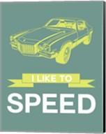 I Like to Speed 3 Fine-Art Print