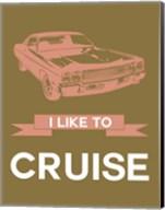 I Like to Cruise 2 Fine-Art Print
