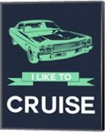 I Like to Cruise 3 Fine-Art Print
