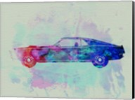 Ford Mustang Watercolor 1 Fine-Art Print