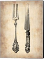 Antique Knife and Fork Fine-Art Print