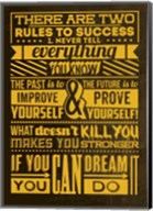 Success Set Yellow Fine-Art Print