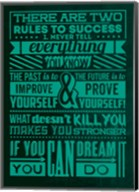 Success Set Green Fine-Art Print