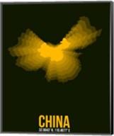 China Radiant Map 2 Fine-Art Print