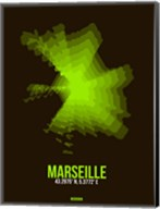 Marseille Radiant Map 1 Fine-Art Print