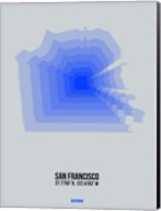 San Francisco Radiant Map 3 Fine-Art Print