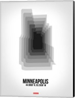 Minneapolis Radiant Map 6 Fine-Art Print