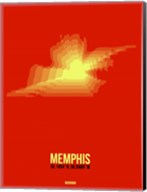 Memphis Radiant Map 4 Fine-Art Print