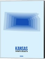 Kansas Radiant Map 3 Fine-Art Print