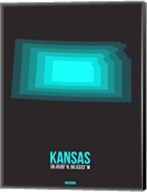 Kansas Radiant Map 5 Fine-Art Print