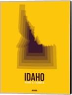 Idaho Radiant Map 3 Fine-Art Print