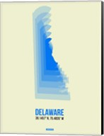 Delaware Radiant Map 1 Fine-Art Print