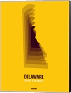 Delaware Radiant Map 3 Fine-Art Print