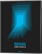 Indiana Radiant Map 5 Fine-Art Print