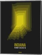 Indiana Radiant Map 6 Fine-Art Print