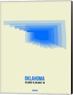 Oklahoma Radiant Map 1 Fine-Art Print