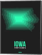 Iowa Radiant Map 5 Fine-Art Print